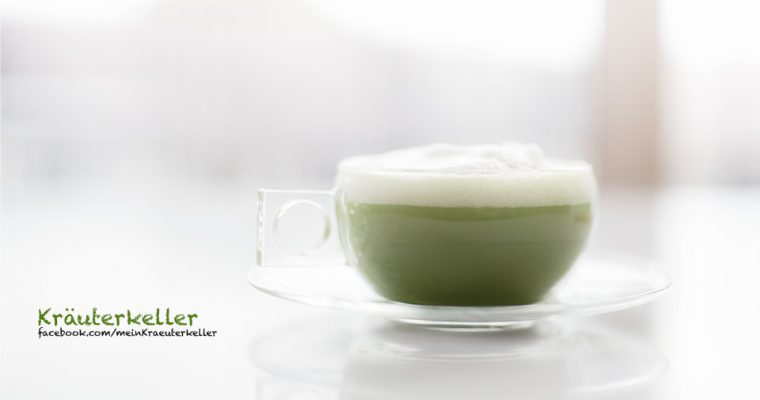 Iced Matcha Latte – gesunder Eistee