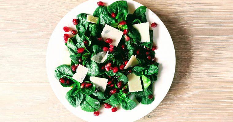 Festliche Salate: Feldsalat mit Granatapfelkernen