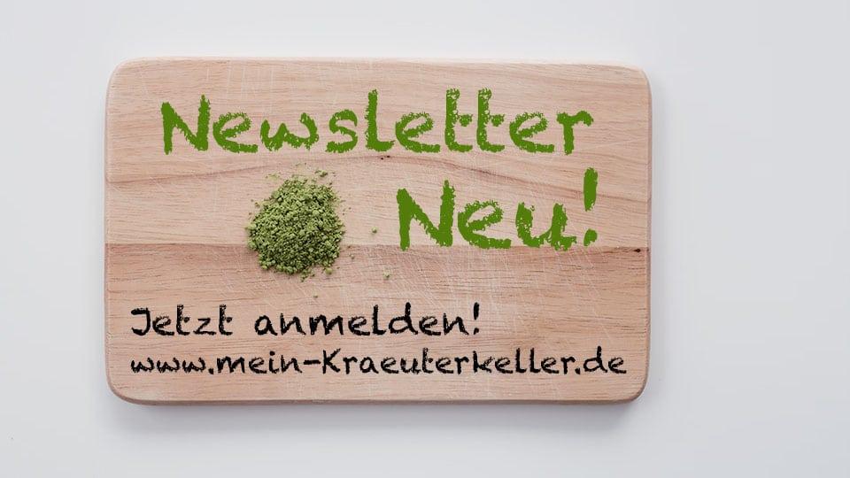 Jetzt neu: mein Newsletter