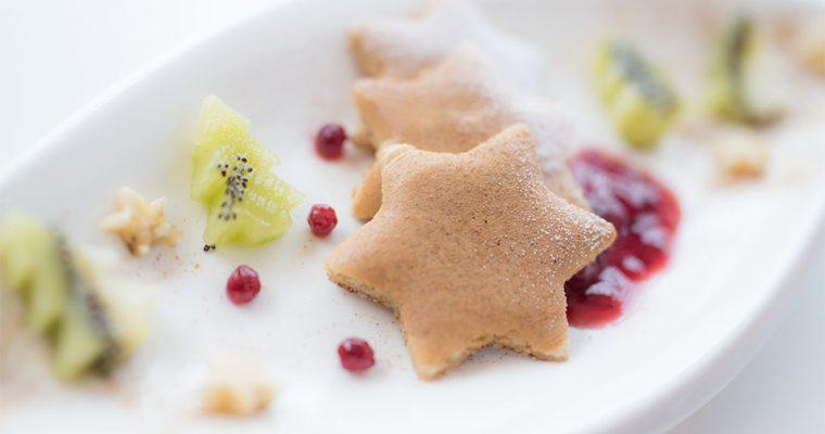 Glutenfreie Pancakes mit weihnachtlichen Gewürzen