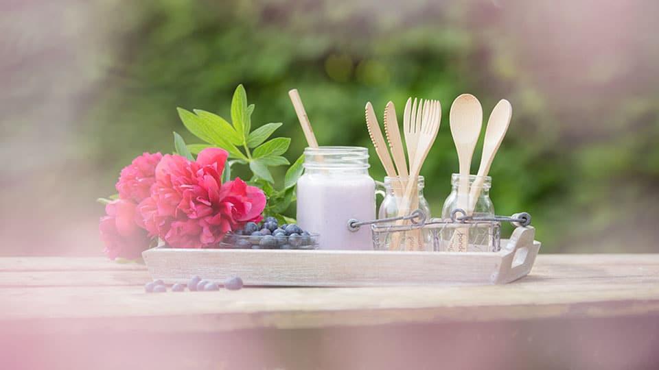 Nachhaltiges Besteck aus Bambus – der ideale Picknickbegleiter?