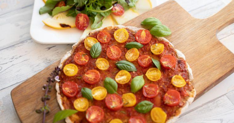 Gesunder Pizzateig glutenfrei und lecker
