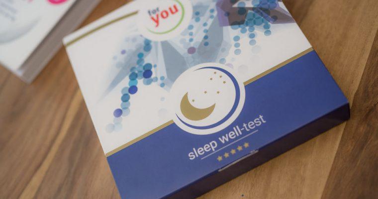 Schlafprobleme? Das muss nicht sein mit dem Schlaftest für zuhause