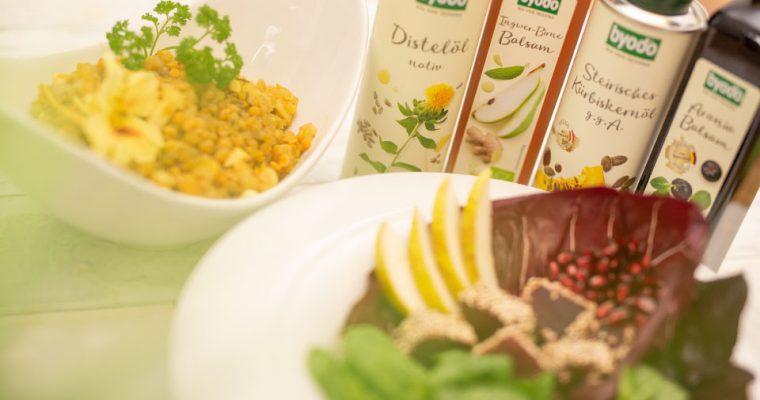 Raffiniert aber einfach – tolle Rezepte mit Ölen und Essig von Byodo