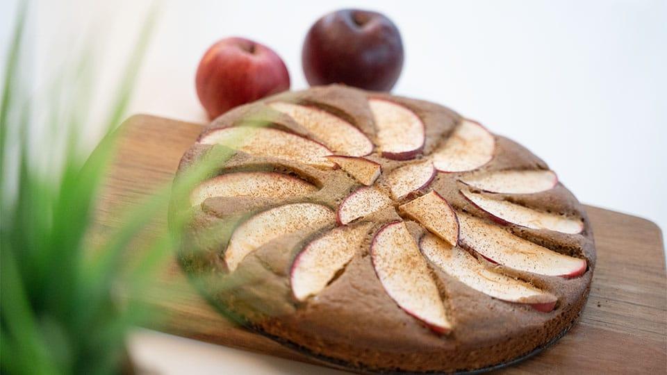 Gesunder Kuchen Mit Buchweizen Und Kastanienmehl Krauterkeller