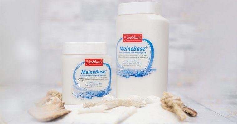Basische Körperpflege mit MeineBase® von P. Jentschura