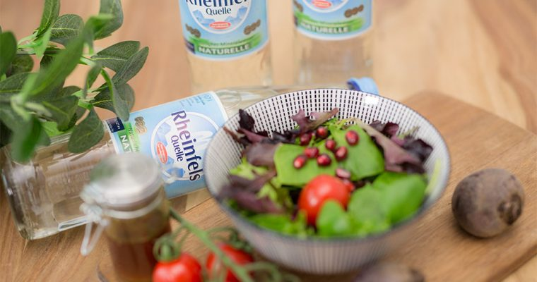 Kochen mit Mineralwasser von Rheinfels Quelle