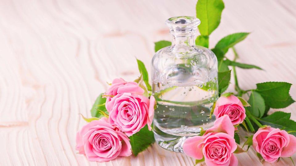 Rosenwasser für strahlende Haut – der Gesichtsbooster
