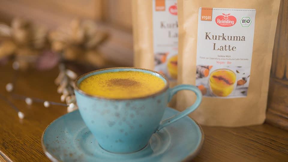 Kurkuma Latte von Keimling – das Super-Getränk
