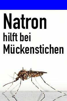 natron mückenstich