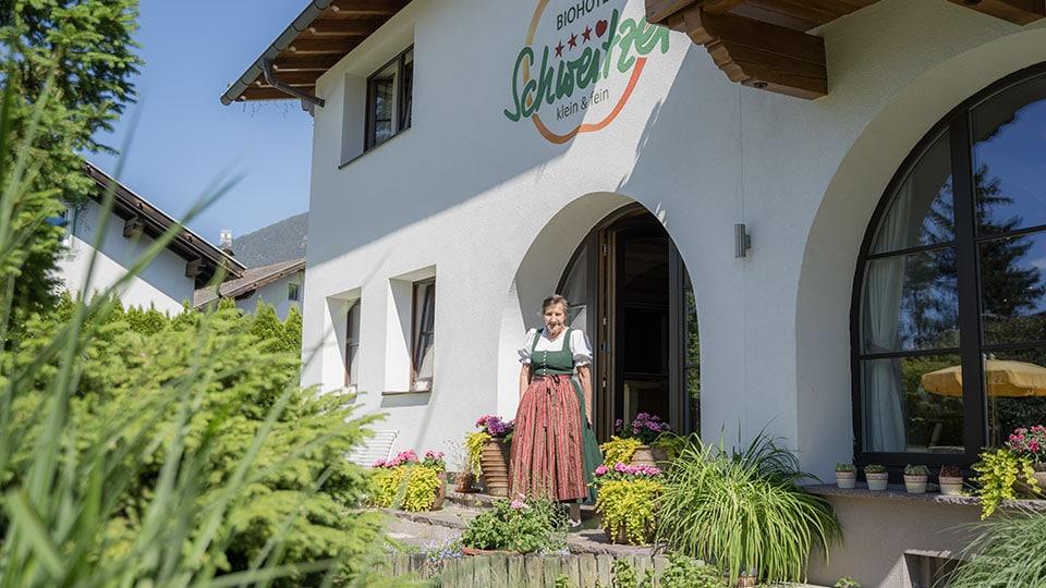 25 Jahre Bioerfahrung – Frau Schweitzer und ihr einzigartiges Biohotel