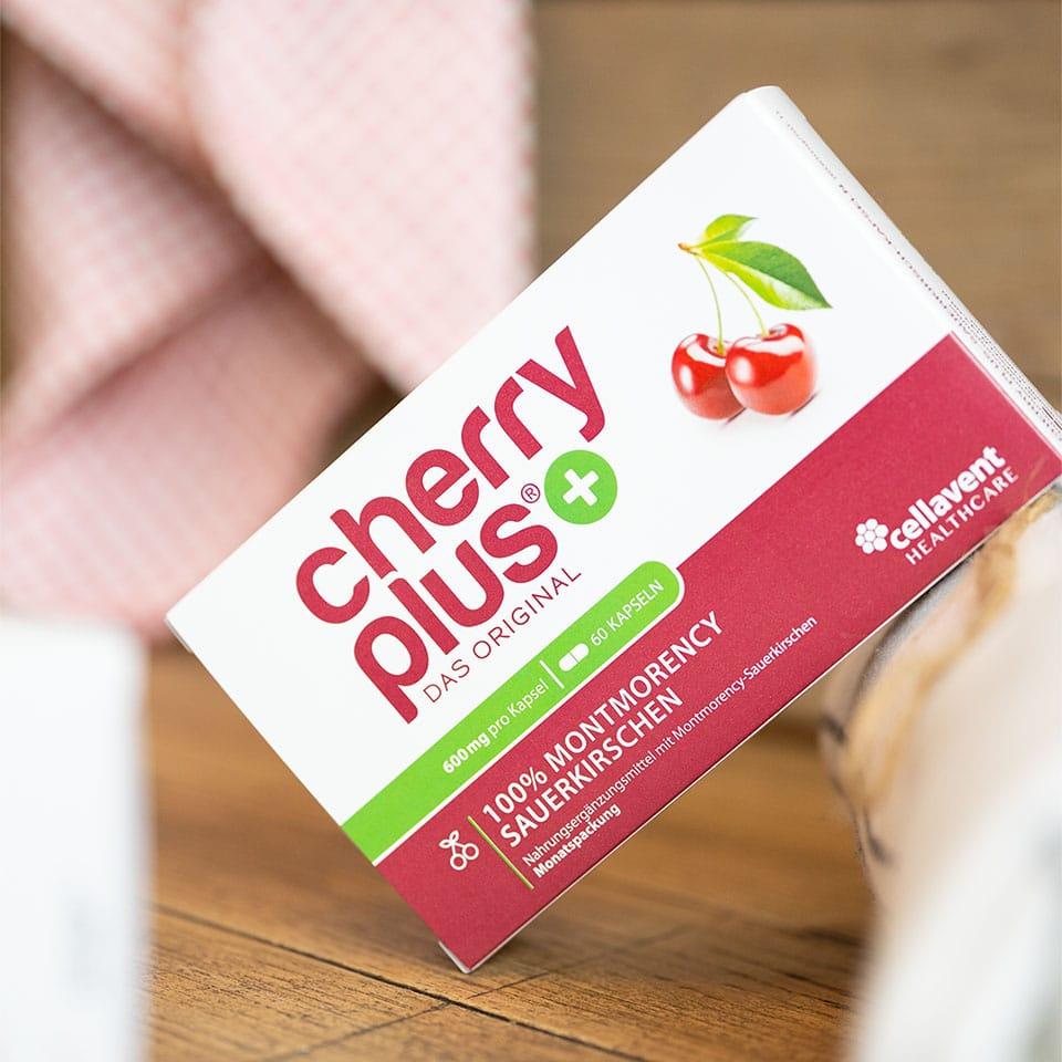 Die Cherry Plus Kapseln