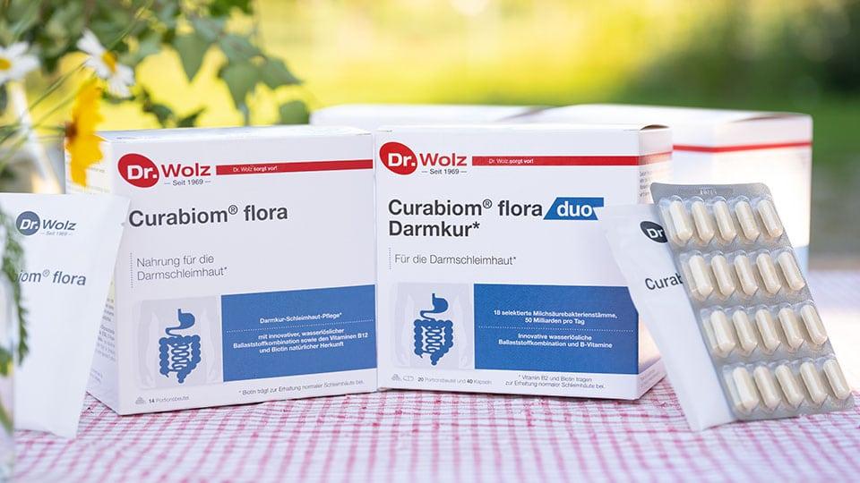 Curabiom Flora und die Corabiom Flora duo Darmkur