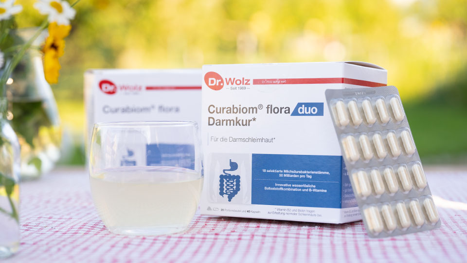 Curabiom Flora Duo Darmkur von Dr. Wolz