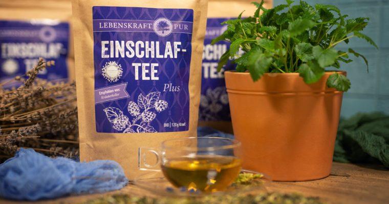 Einschlaftee Plus – unser erster Tee!