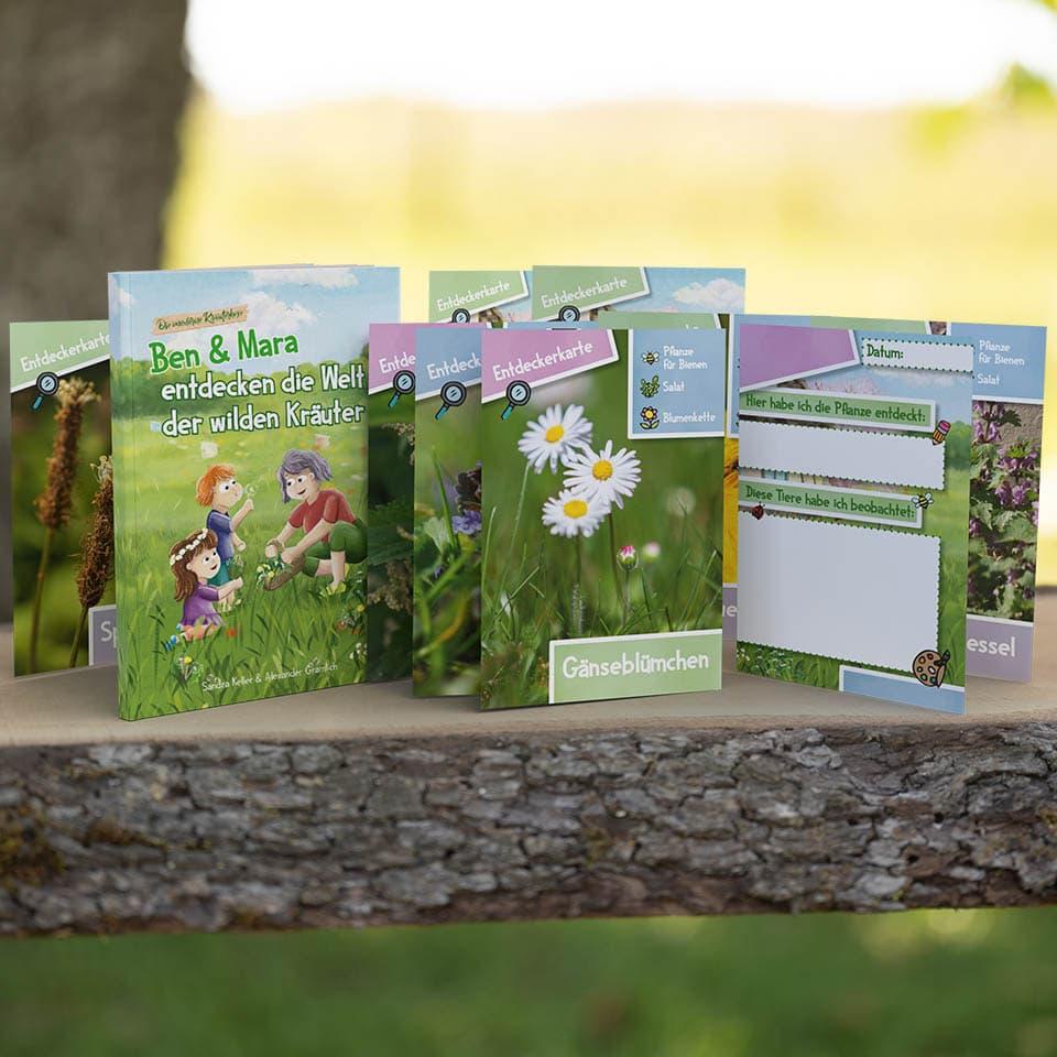Das Entdecker Set für Kinder mit Entdeckerkarten