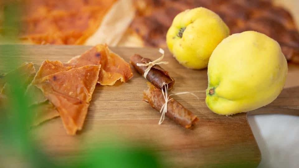 Fruchtleder aus Quitten herstellen