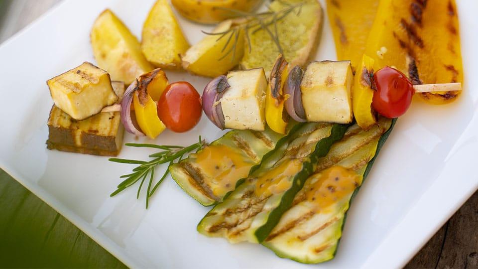 Grillgemüse mit Kräutermischung