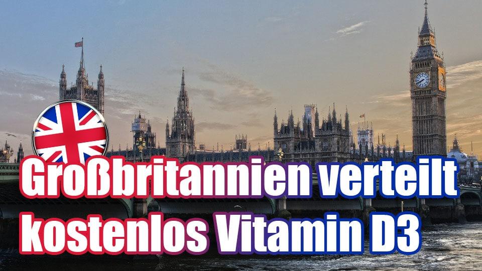 Großbritannien verteilt kostenlos Vitamin D3