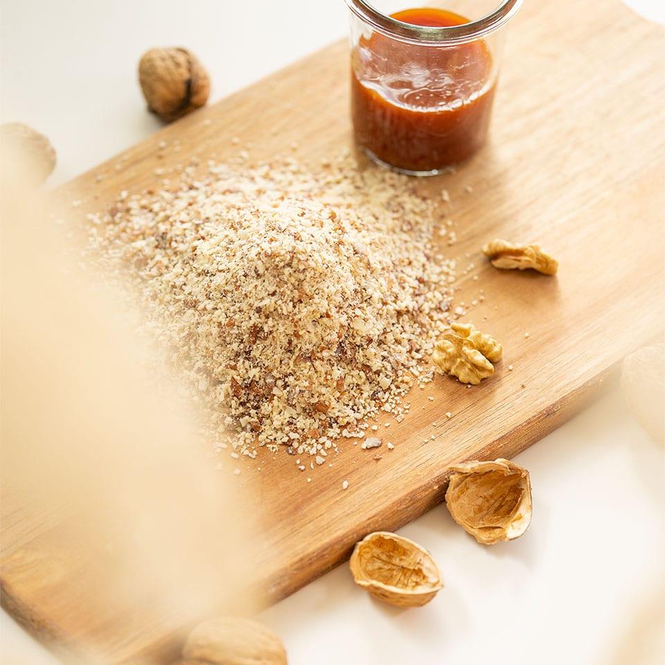 Zutaten für Rezept für Hagebuttenplätzchen