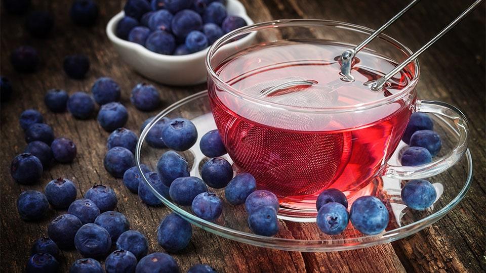 Heidelbeeren - Tee