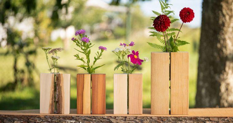 Neues Leben für totes Holz: Handgemachte Holzvasen aus eigener Produktion – Die Entstehung
