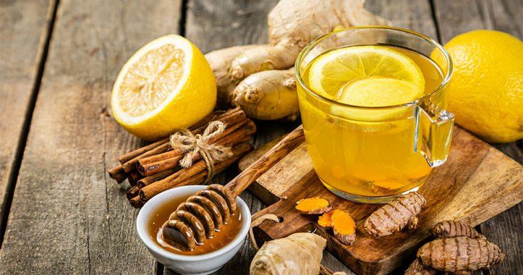 Ingwer-Kurkuma-Tee bei Erkältung