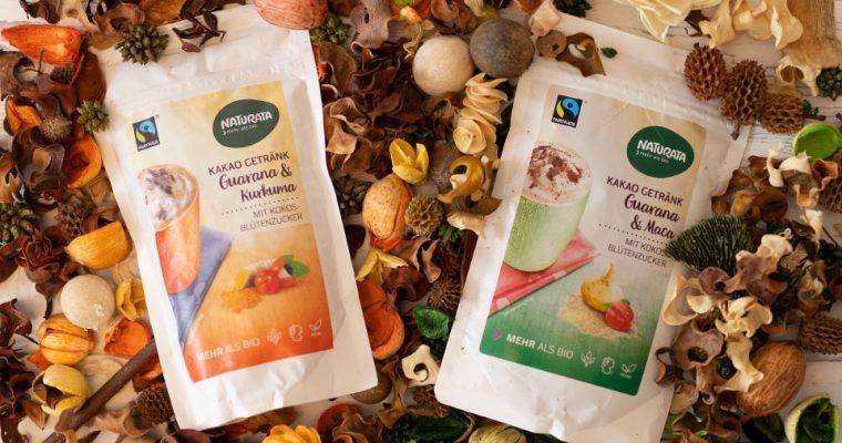 Leckere Kakaogetränke mit Guarana für kalte Wintertage