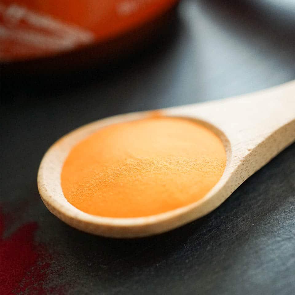 Saftpulver aus Karotten