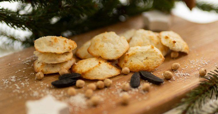 Schnelle Kokosmakronen – pflanzlich und ohne raffinierten Zucker