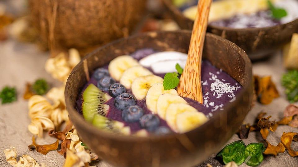Müsli im Kokosschalen Set von Pandoo