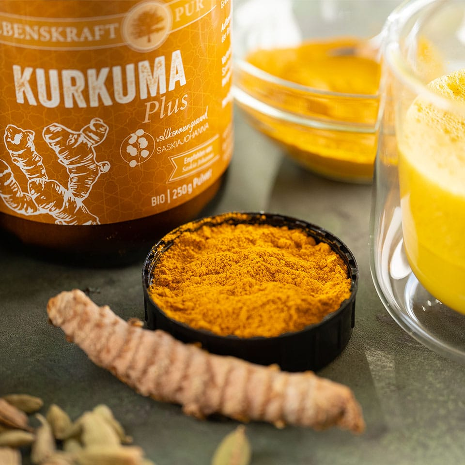 Kurkuma plus von Lebenskraft pur