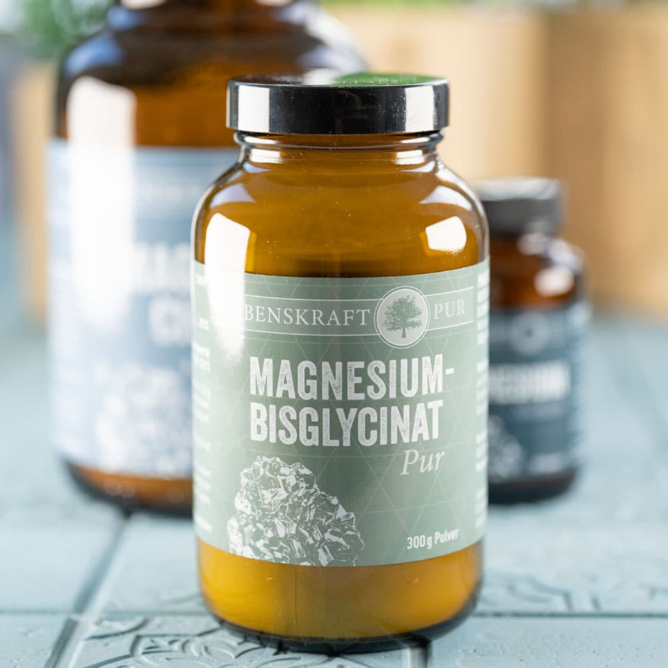 Magnesium Bisglycinat von Lebenskraft pur