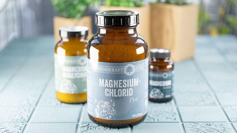 Magnesium Chlorid von Lebenskraft pur