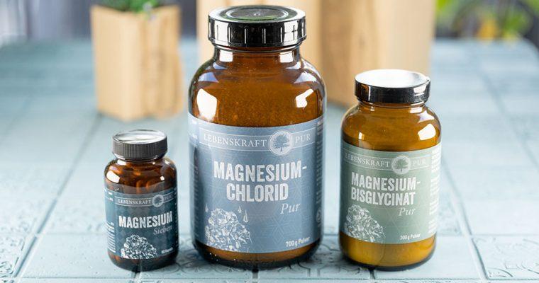 Welches Magnesium sollte man einnehmen? Mit Rabattcode