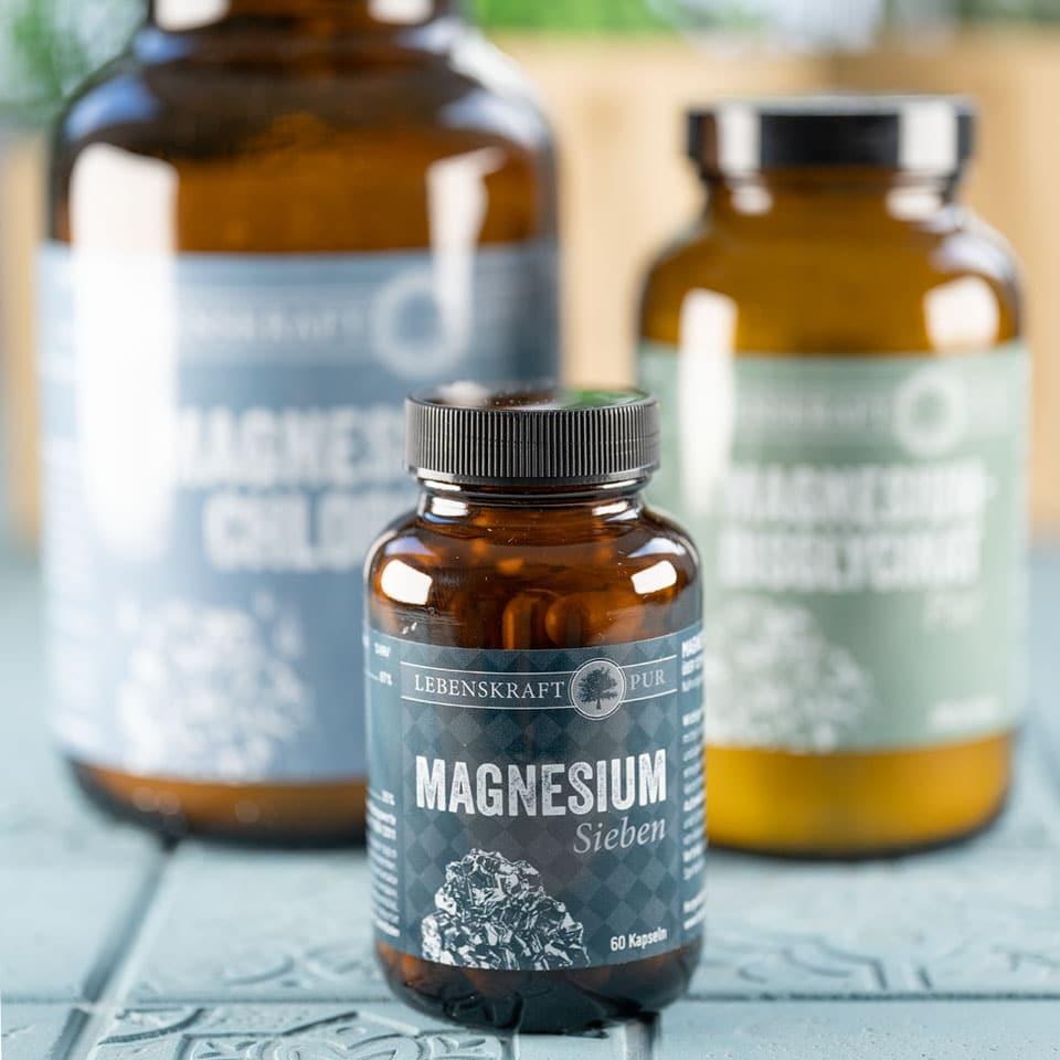 Magnesium Sieben von Lebenskraft pur