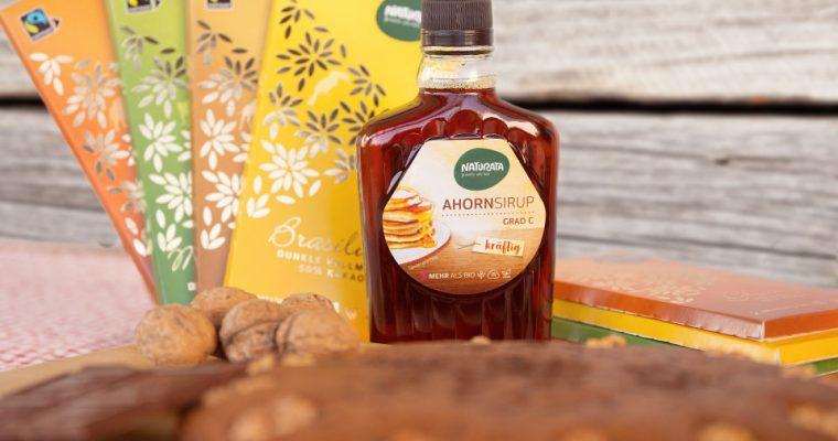 Rezept für leckeren Schokokuchen – Klimaneutral backen mit Naturata