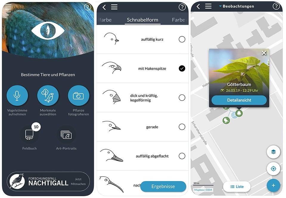 Die App Naturblick