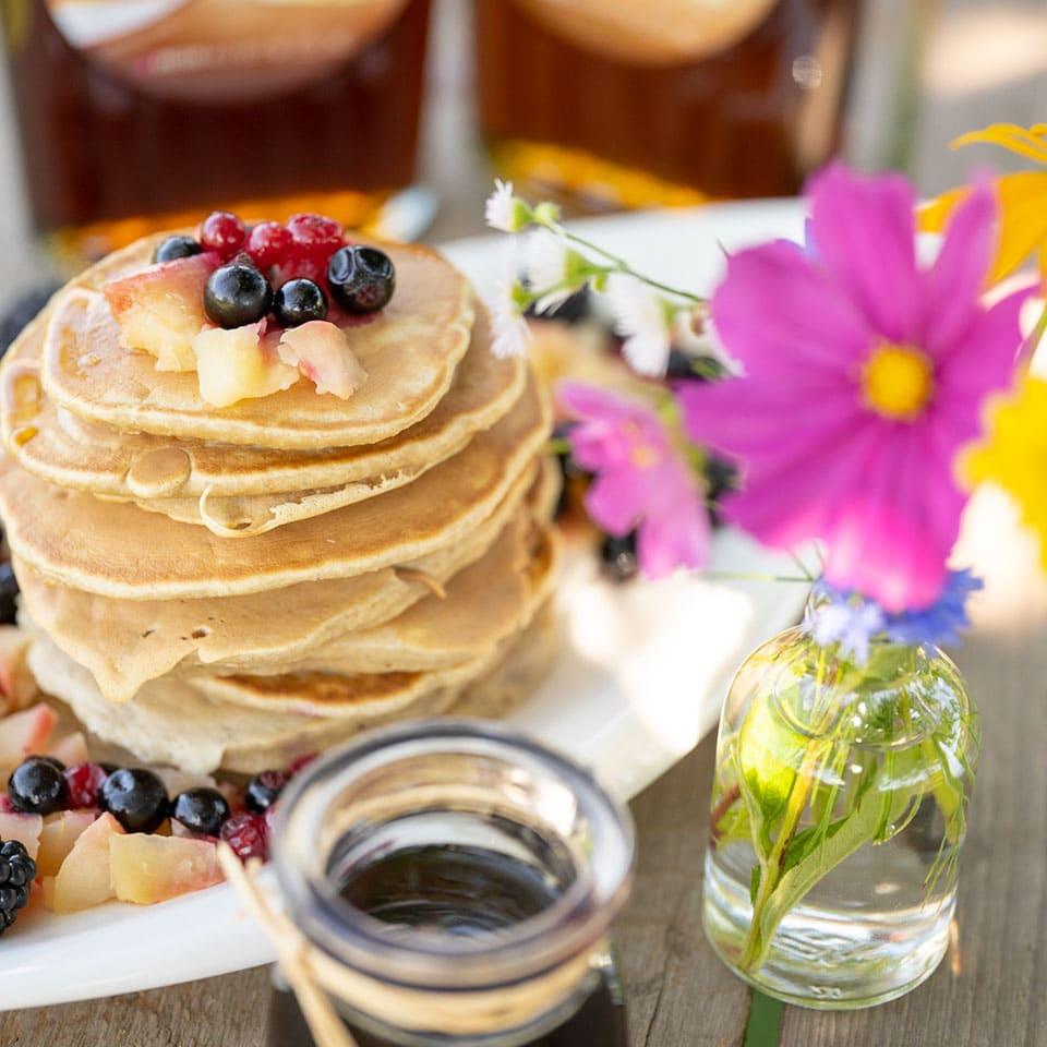 Rezept für glutenfreie Pancakes