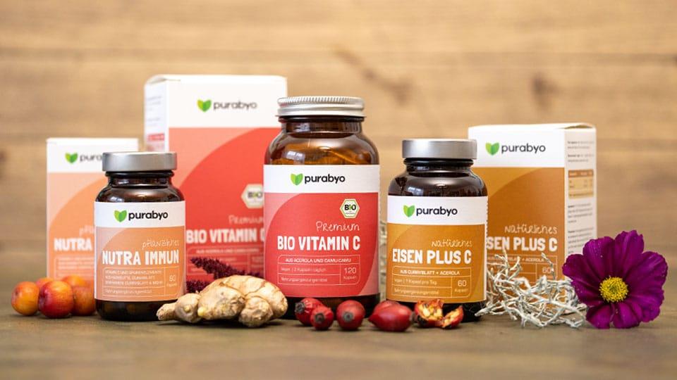 Natürliche Mikronährstoffe aus Pflanzenkraft in nachhaltiger Verpackung