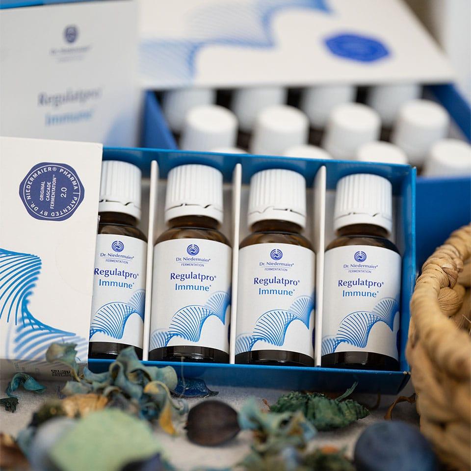Regulatpro Immune von Dr. Niedermaier im 4er Set
