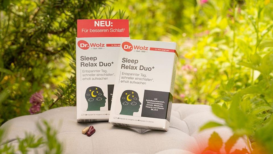 Sleep Relax Duo von Dr. Wolz