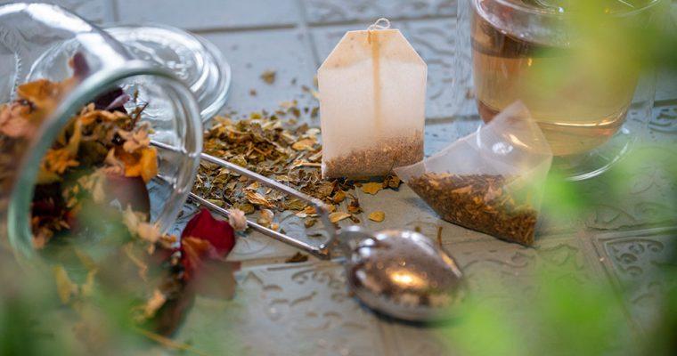 Plastik in Teebeuteln – Nutze losen Tee oder sammle selbst Kräuter für Tee