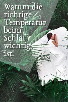 temperatur schlaf