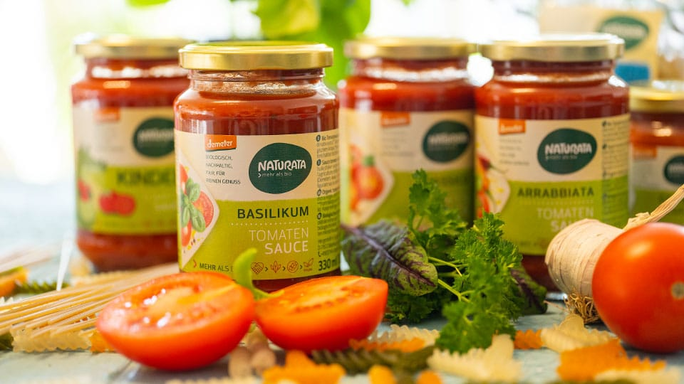 Tomatensosse von Naturata
