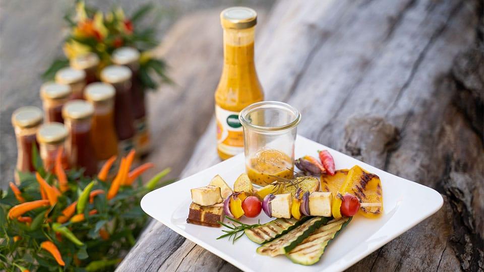 Vegane Grillsaucen ohne Geschmacksverstärker von Naturata