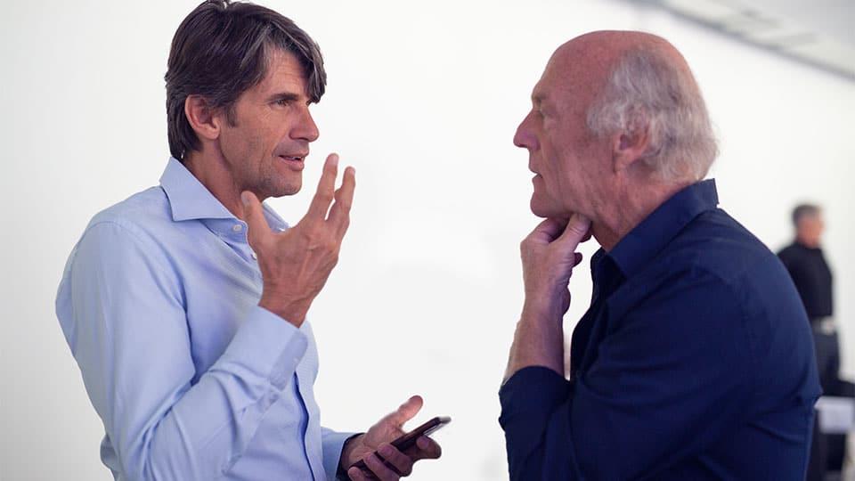 Dr. Ulrich Volz im Gespräch mit Dr. Dietrich Klinghardt