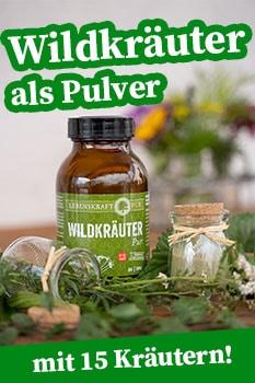 wildkräuter pulver