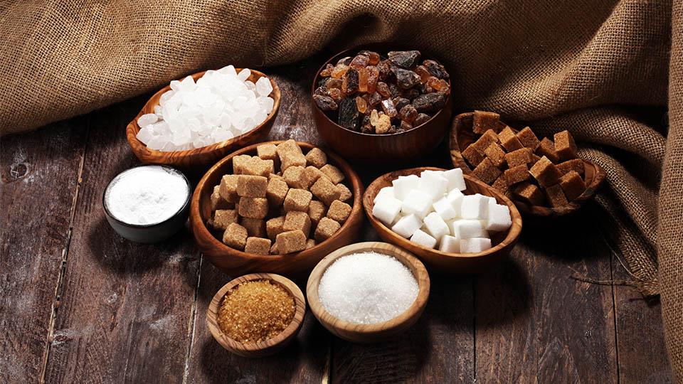 Zucker und Zuckeralternativen